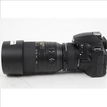 Nikon D3200 Digital Camera With 55 300mm Lens Digital Camera Nikon D3200 Digital