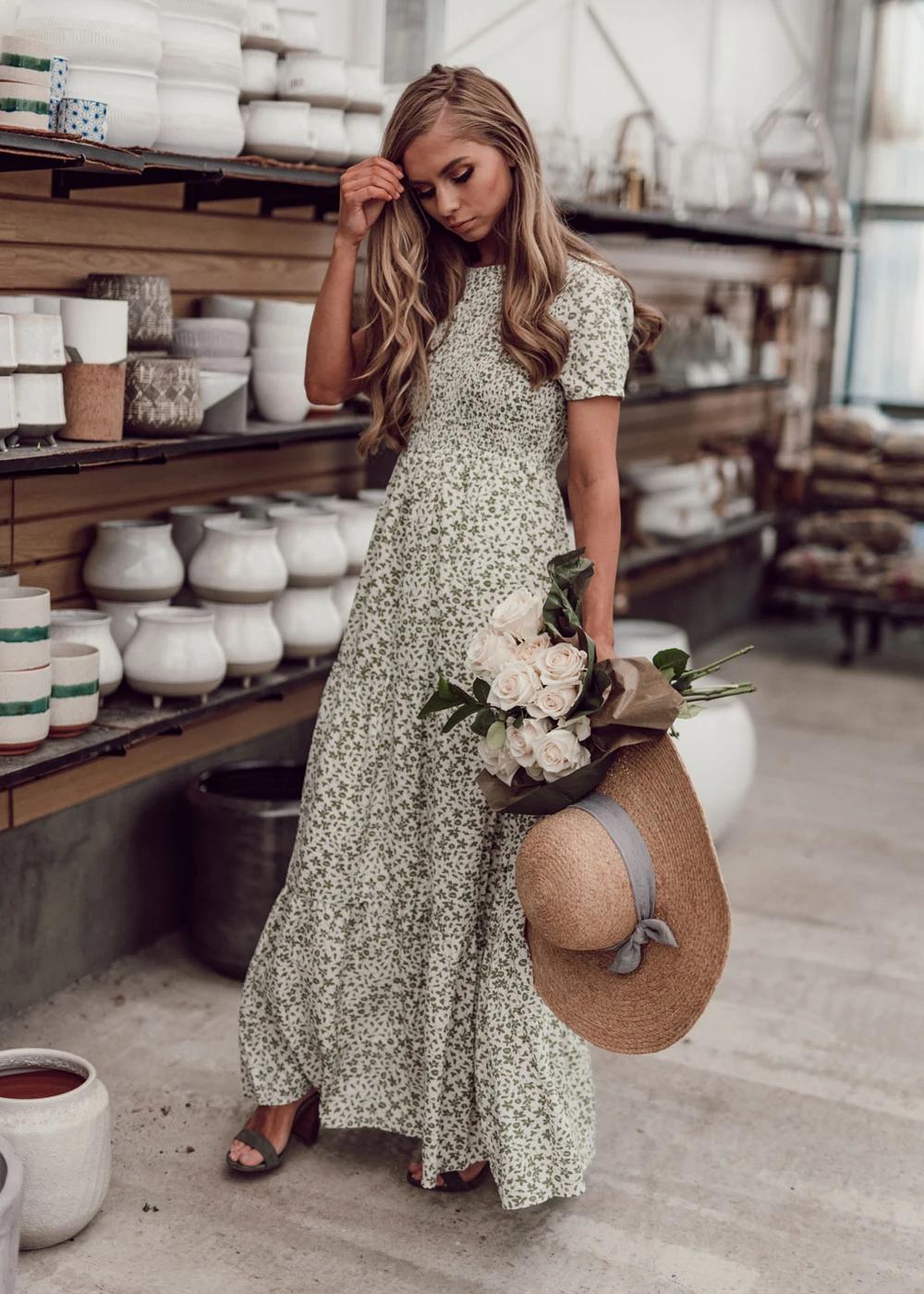 Sweet Caroline Maxi Dress Jessakae Green Dress Bridesmaid Dress Modest Dress Floral Shoot Tan Skin Modest Dresses Casual Maxi Dress Maxi Dresses Casual [ 1400 x 1000 Pixel ]