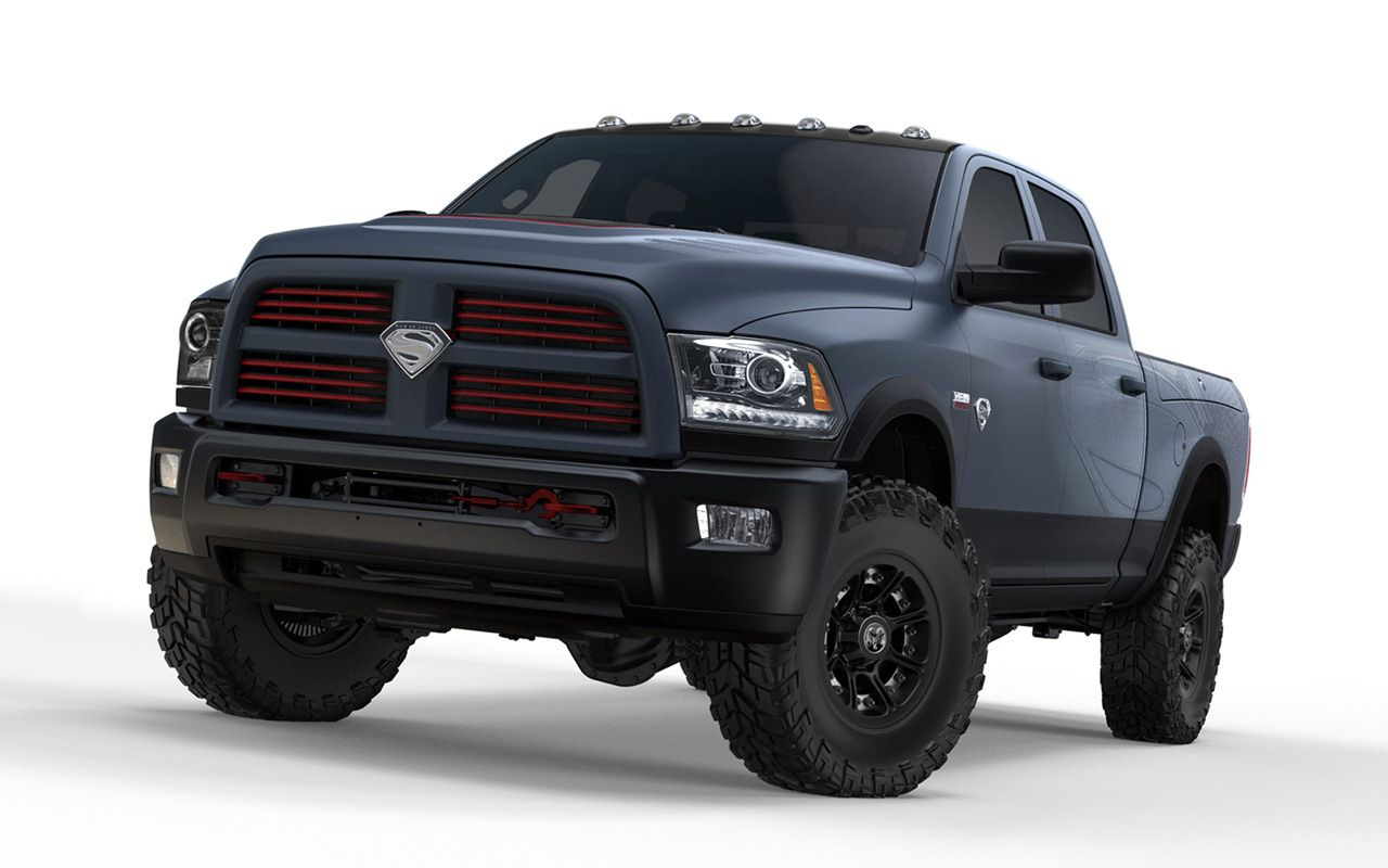 2013 dodge ram truck man of steel