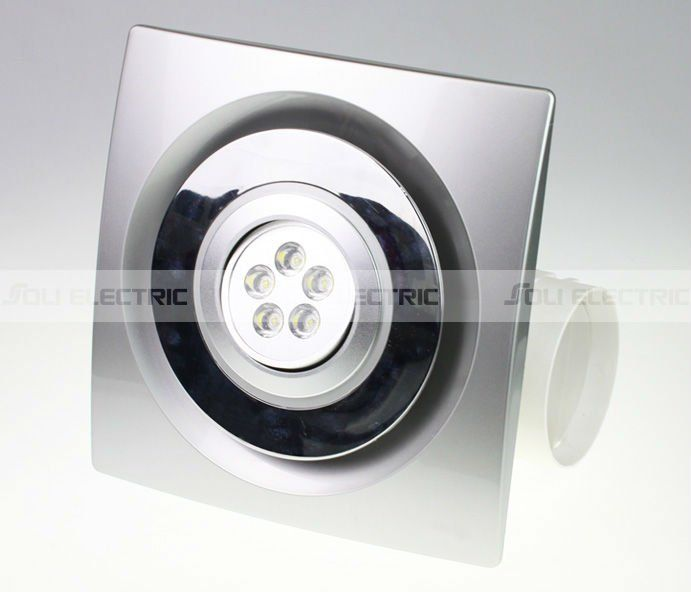 Kitchen Bathroom Ceiling Exhaust Fan With Led Light Bathroom Ceiling Exhaust Fan Ceiling Exhaust Fan Exhaust Fan