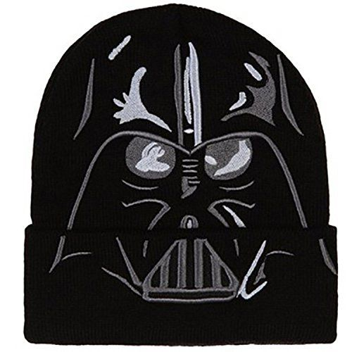 cb597cc1ba9 Star Wars  The Force Awakens - Darth Vader Cuff Beanie Hat   Price ...