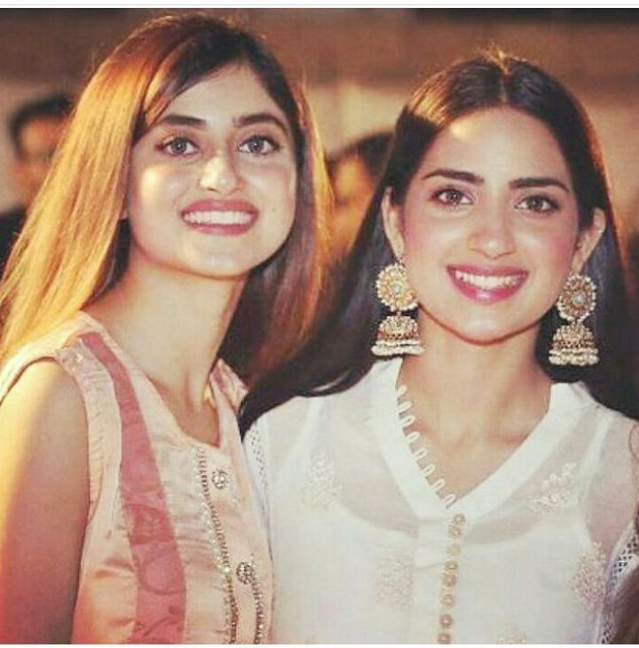 Sajal Ali sister name is Saboor Ali