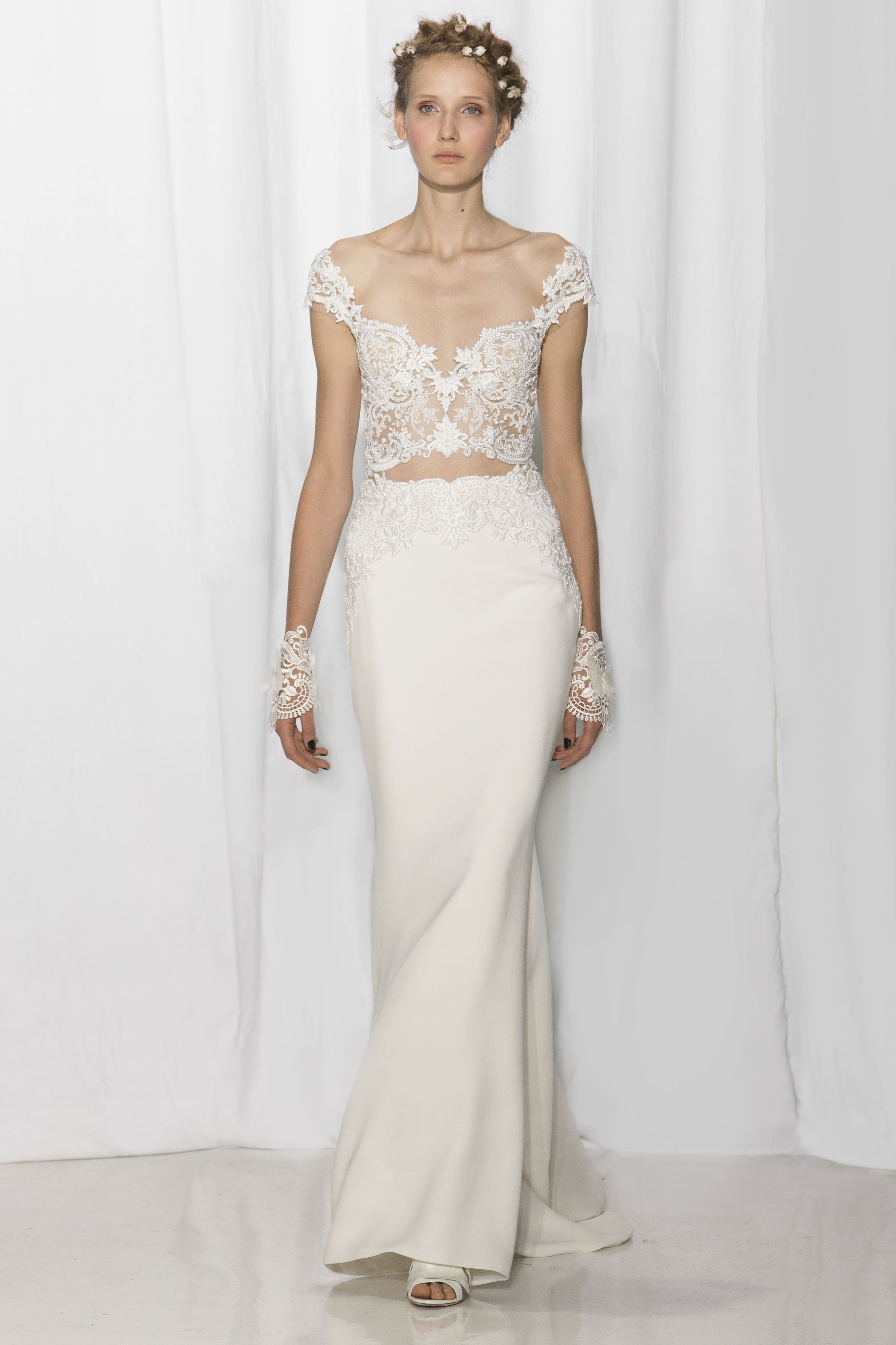0a4a77974969 Reem Acra - Bridal Collection - Look 12 – Penelope | wedding | Reem ...