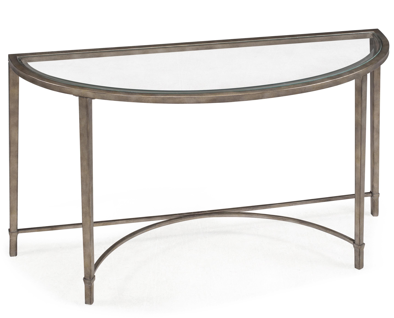 Charmant Glass Hallway Table