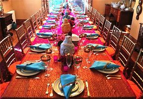 Indian Dinner Table Decoration Indian Party Themes Dinner Party Themes Indian Dinner
