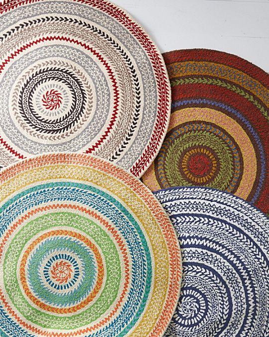 Garnet Hill Fair Isle Hooked Wool Rug Home Pinterest