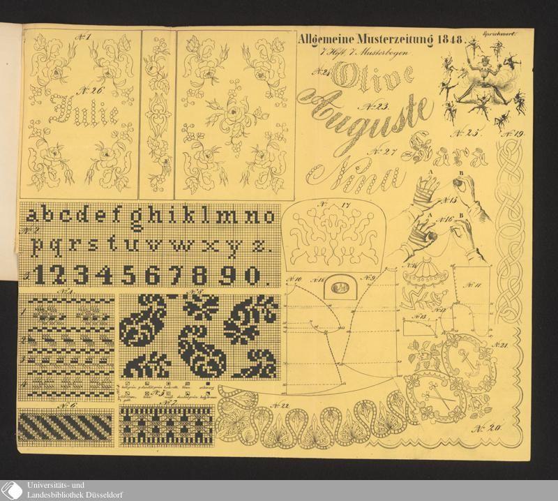 158 - No. 7. 1. April - Allgemeine Muster-Zeitung - Seite - Digitale Sammlungen - Digitale Sammlungen