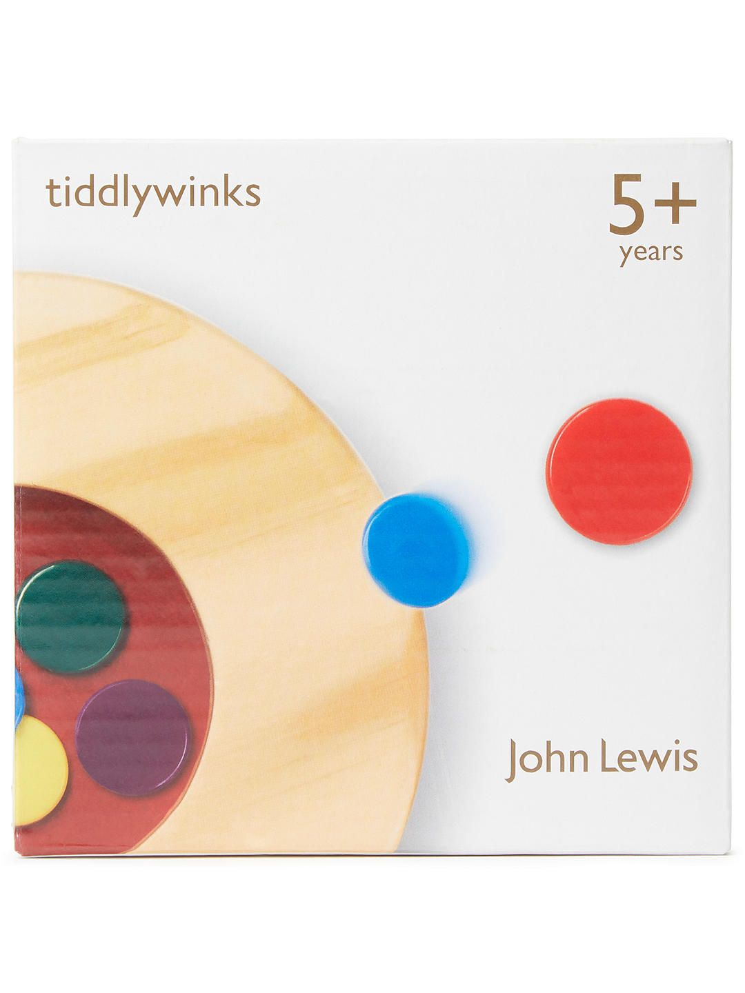 8254d77fc778 BuyJohn Lewis & Partners Tiddlywinks Wooden Game Online at johnlewis.com