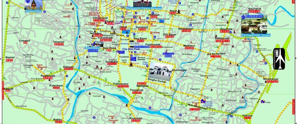 City Map Kathmandu City Patan City This City map is provided