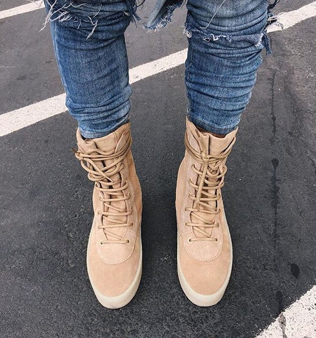8a1dd43b71b Yeezy Season 2 Crepe Boots out now!