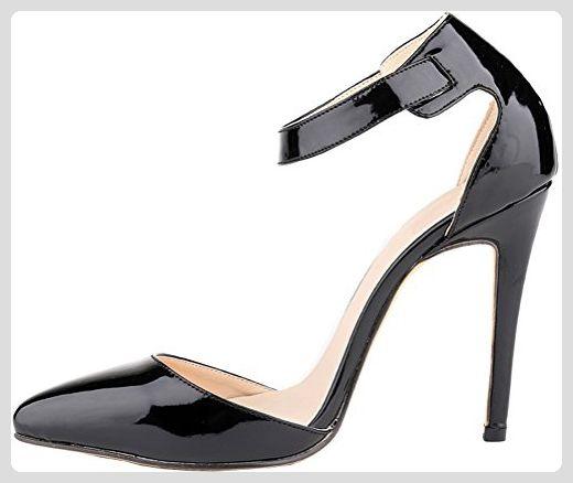 CFP , Damen Knöchel-Riemchen , schwarz - schwarz - Größe: 35.5