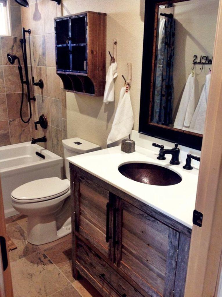 12 Volt Bathroom Lighting Small Rustic Bathrooms Rustic Cabin