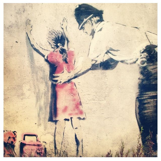 Banksy - controversial artist who keeps inspiring the world with his beautiful art works that creates meaning and gains worldwide publicity