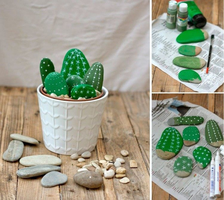 20 Diy Ideas For Garden Decor With Pebbles And Stones With Images