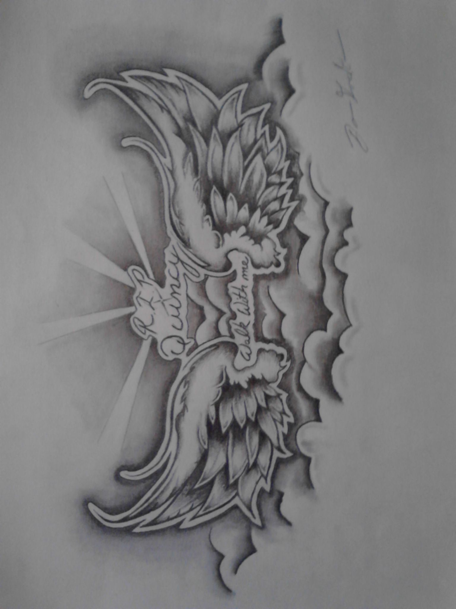 Angel Wings Tattoo Design Tattoo Design Drawings Tattoo Designs