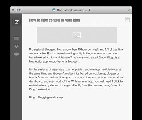 google blogger offline