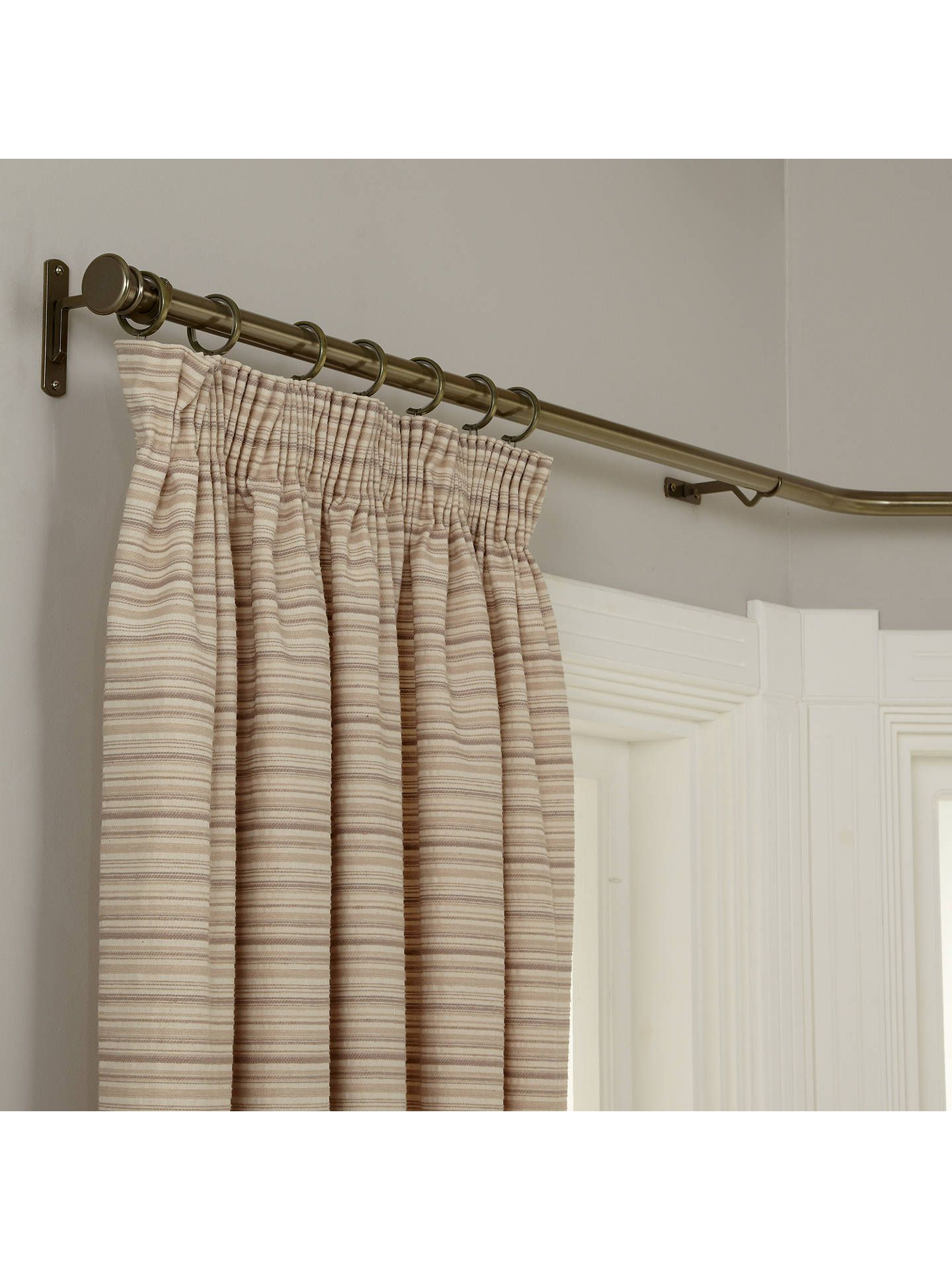 30 Fresh Bay Window Curtain Pole Wooden In 2020 Curtain Poles