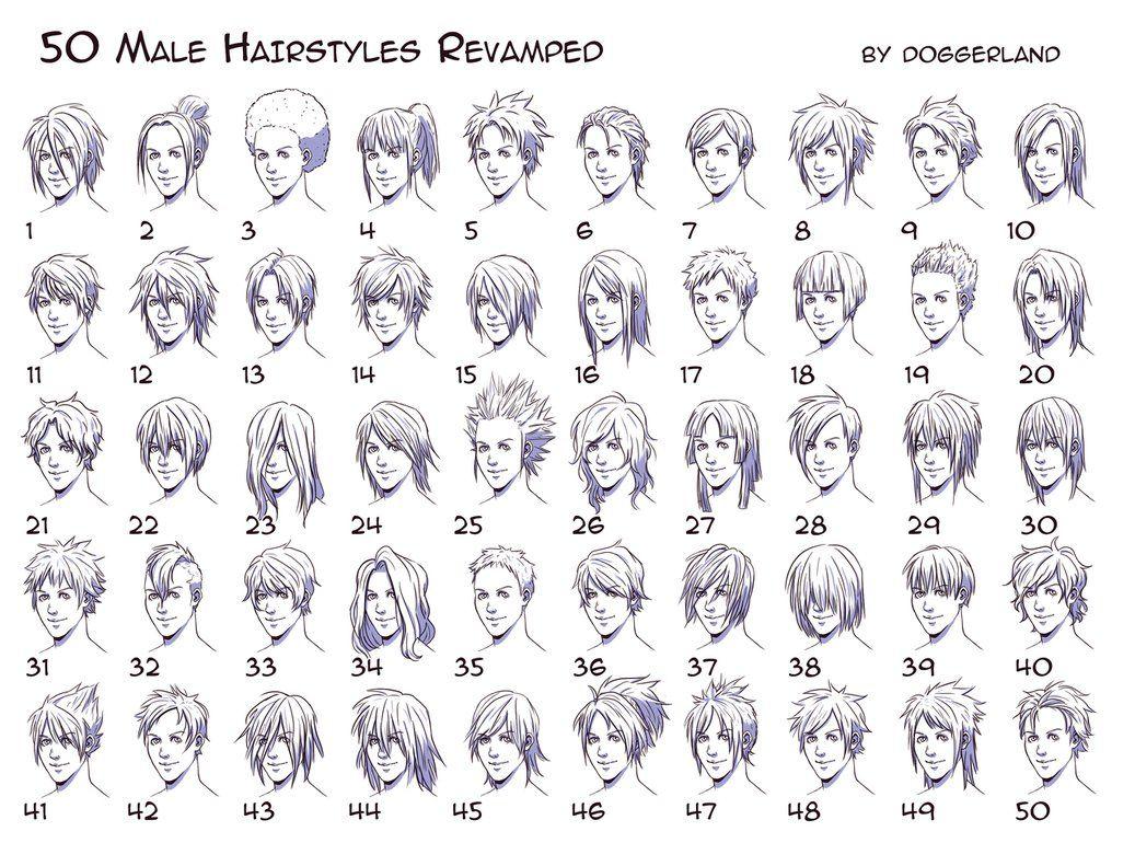 Hairstyles Drawing Male Drawing Hairstyles Anime Boy Hair Manga Hair Guy Drawing