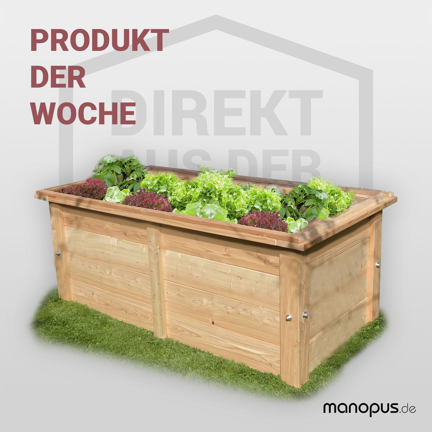 Unser Produkt der Woche: Das Hochbeet von Kastenmüller Holz ...