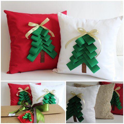 Almohadon de navidad cojines pinterest almohada de - Cojines de navidad ...