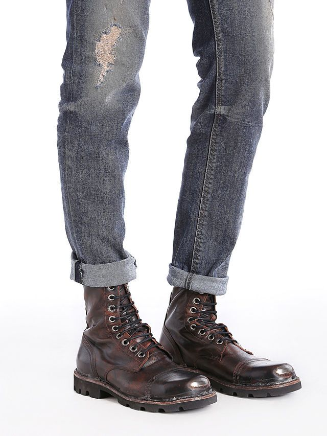 a2dce41d4ba STEEL Boot | Diesel SS 2015 | Solemates | Diesel boots, Steel boots ...