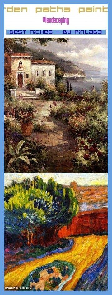 Photo of Garden paths painting #garden #paths #painting #gartenwege #malen