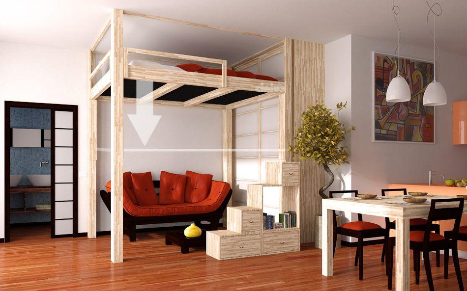 Hochbetten Rising cinius Wohnen Pinterest Hochbetten - raumdesign wohnzimmer