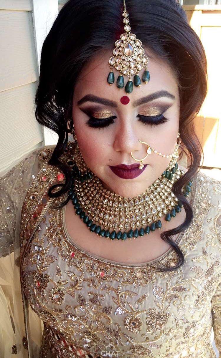 Pinterest pawank90 Bridal makeup looks, Bridal