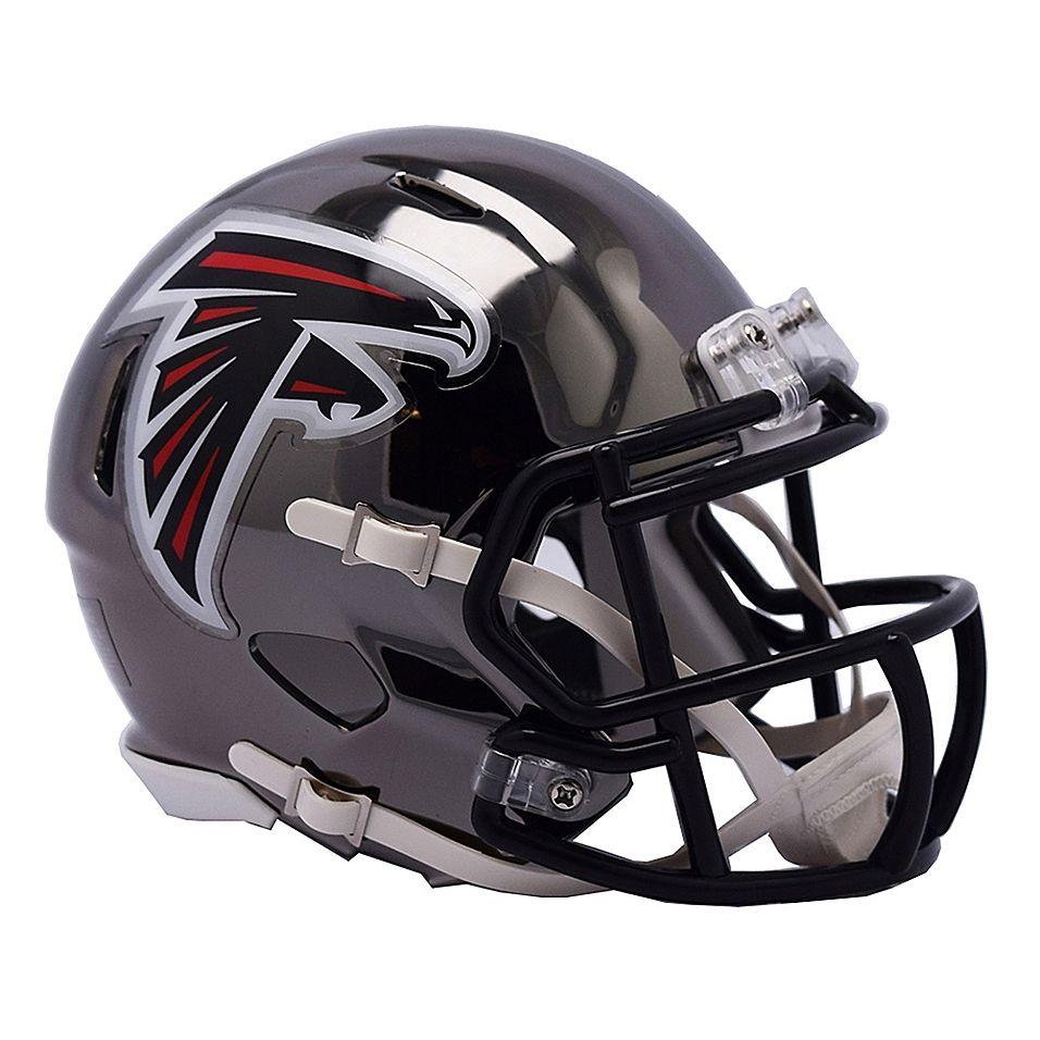 Riddell Nfl Atlanta Falcons Chrome Series Speed Mini Football Helmet Multi Football Helmets Football Helmets For Sale Atlanta Falcons