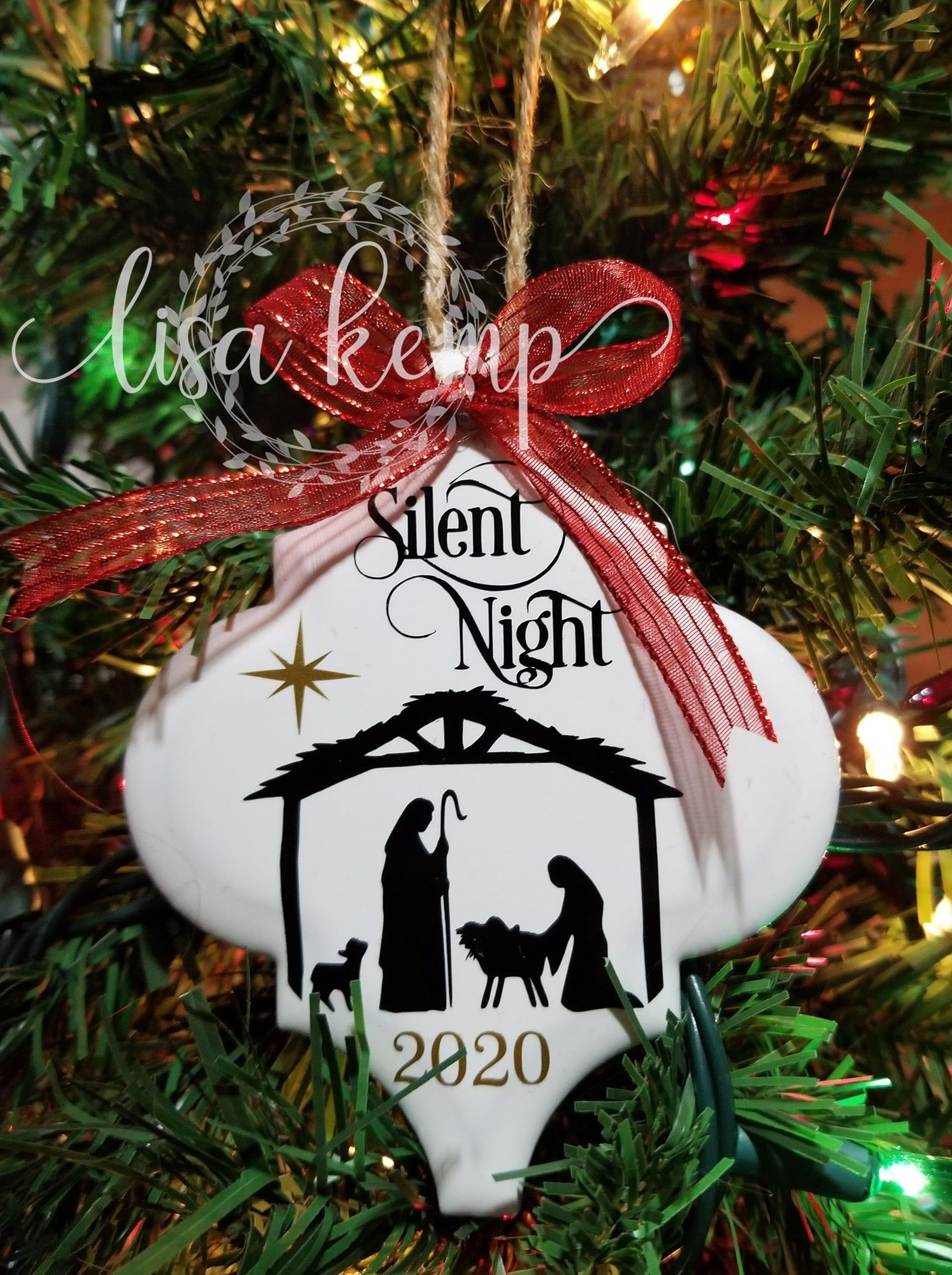 Silent Night Nativity Scene Ceramic Lantern Tile Ornament Etsy In 2021 Homemade Christmas Ornaments Diy Christmas Ornaments To Make Christmas Ornament Crafts