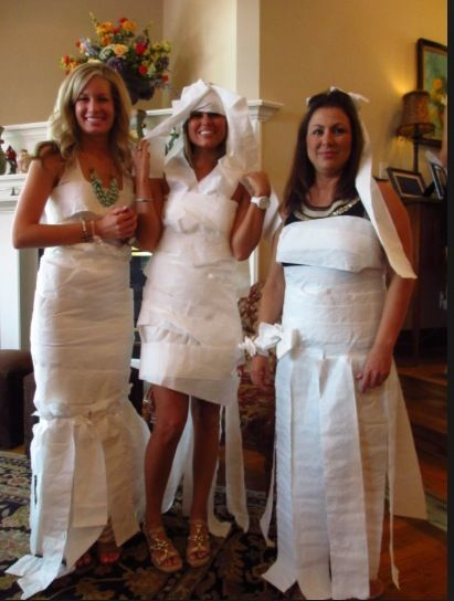 Wedding Dress Design Game Guests Are Divided In To Teams Of Three