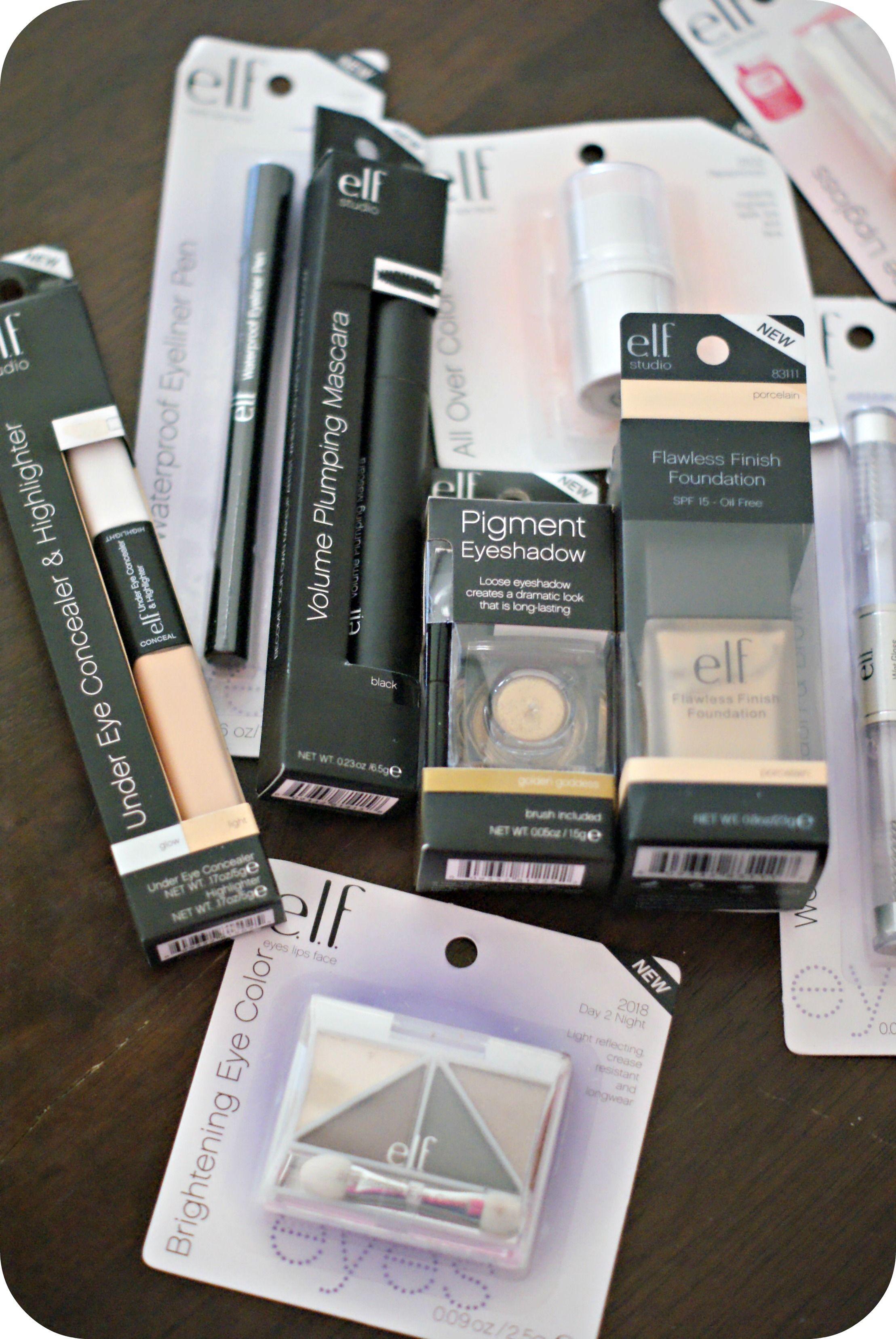 e.l.f. makeup haul