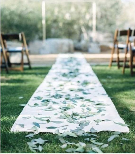 Eukalyptusblätter Konfetti Hochzeitswurf – Frische Eukalyptusblätter | Hochzeit, Events, Geburtstage, Bridals, Table Scatter   – Wedding