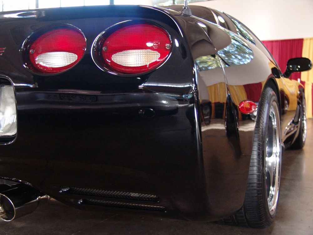 C5 Corvette European Taillight Conversion Kit Red Clear Corvette Mods Tail Light Corvette Led Strip Lighting