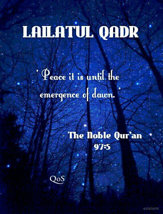 Surah al-Qadr and Virtues of Laylat al-Qadr   Quranic Quotes