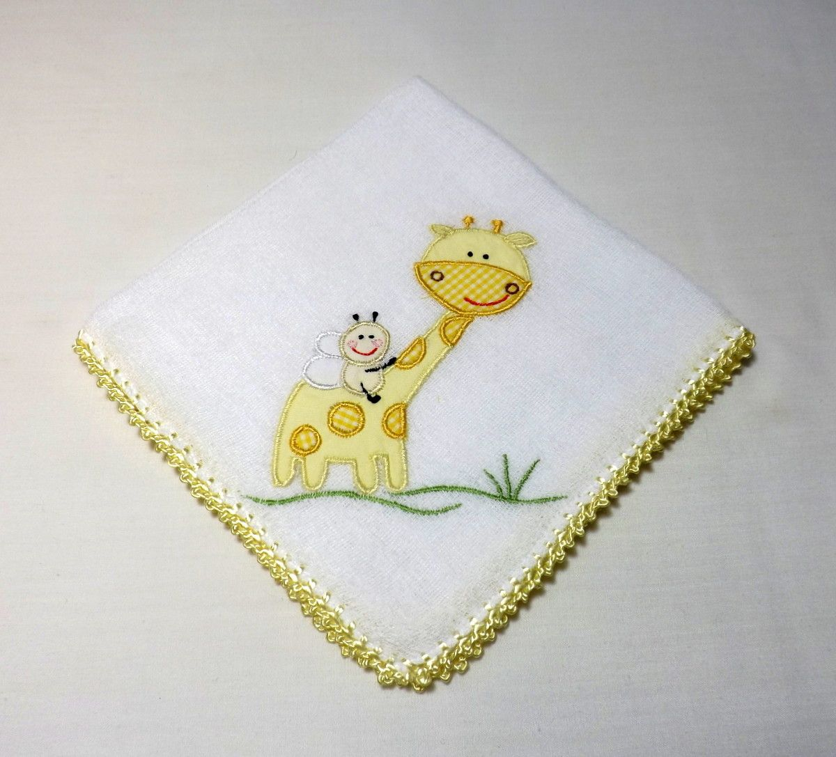 Babita Bordada - Girafa (amarela)