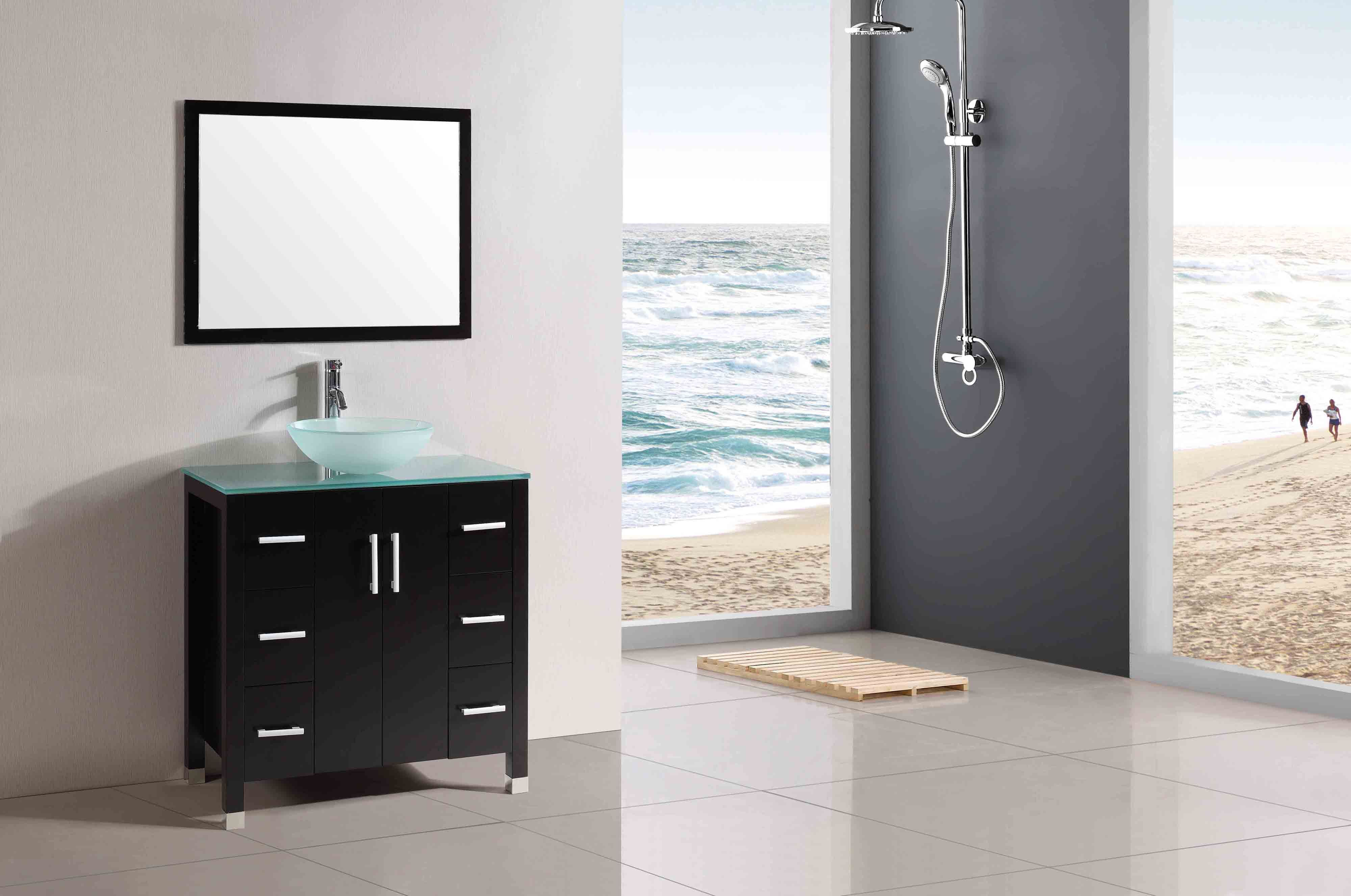 Beautiful Bathroom with Grey Accent and Modern Style: Well Liked ...