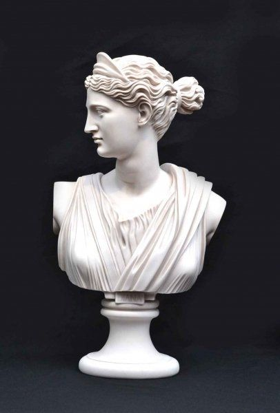 Stunning Marble Bust of Diana #greekstatue