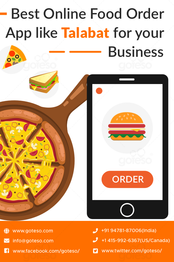 In today's world, the demand for online food delivery