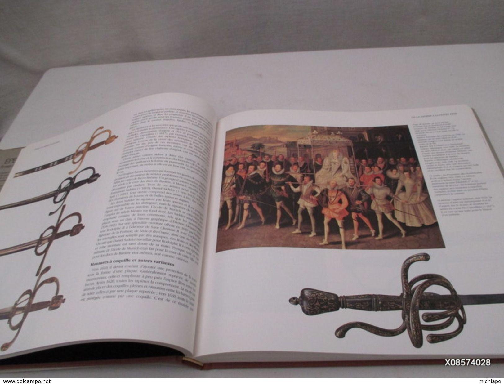 Livre Relie Epees Et Armes Blanches Edition Bordas Format