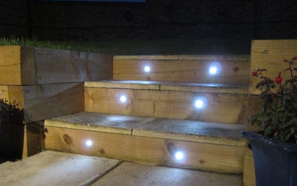 Truly Innovative Garden Step Lighting Ideas Garden Lovers Club In 2020 Step Lighting Solar Lights Garden Deck Step Lights