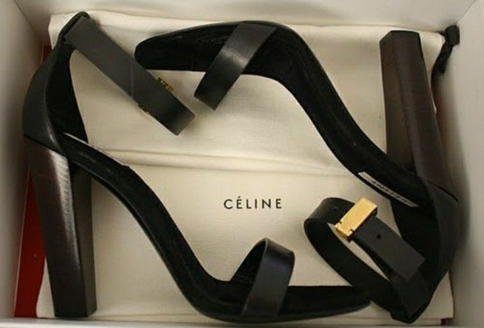 chaussures à talons en cuir noir chaussures design cuir les dernieres tendances chez les chaussures