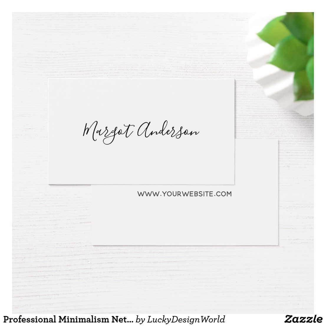 Professional minimalism networking chic business card impressive professional minimalism networking chic business card zazzle reheart Images