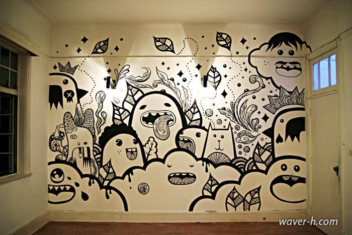 Frank casazza momo waver h smoke pinturas de pared - Graffitis para habitaciones ...