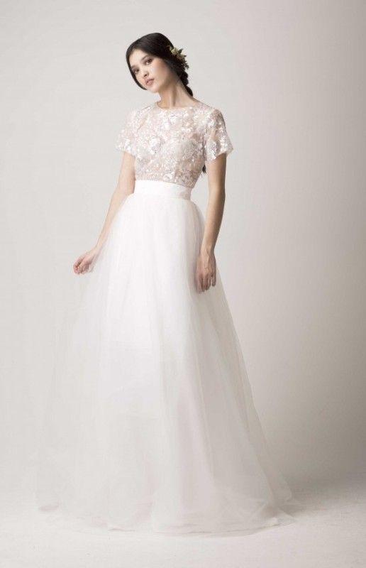18 Graceful And Feminine Ballerina Inspired Wedding Dresses ...