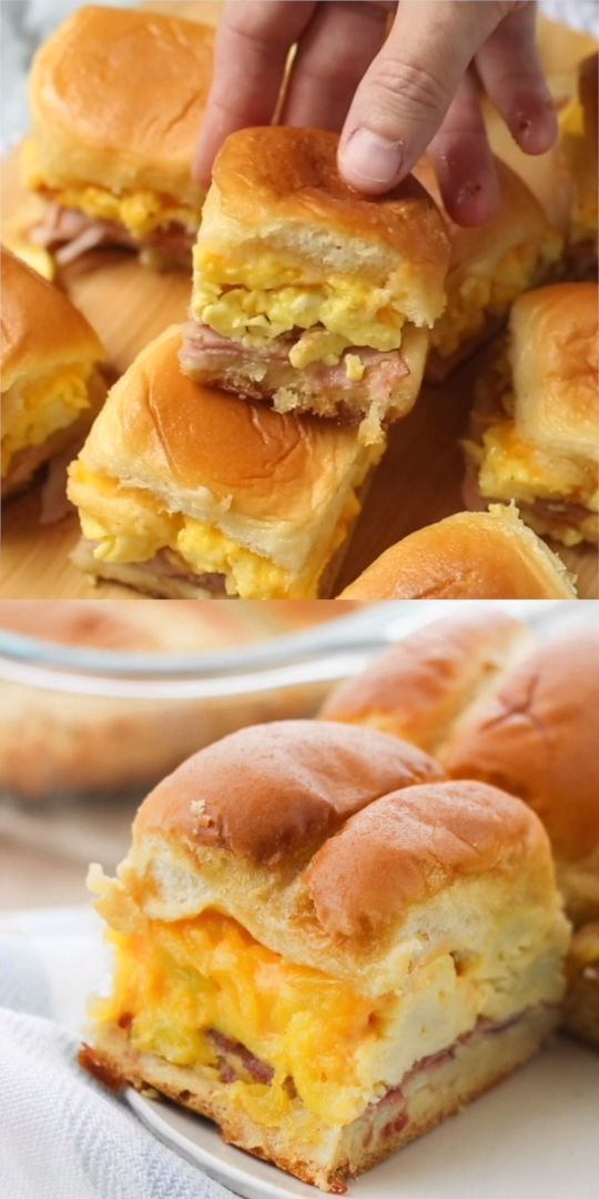 BEST Ever Breakfast Sliders - The Soccer Mom Blog