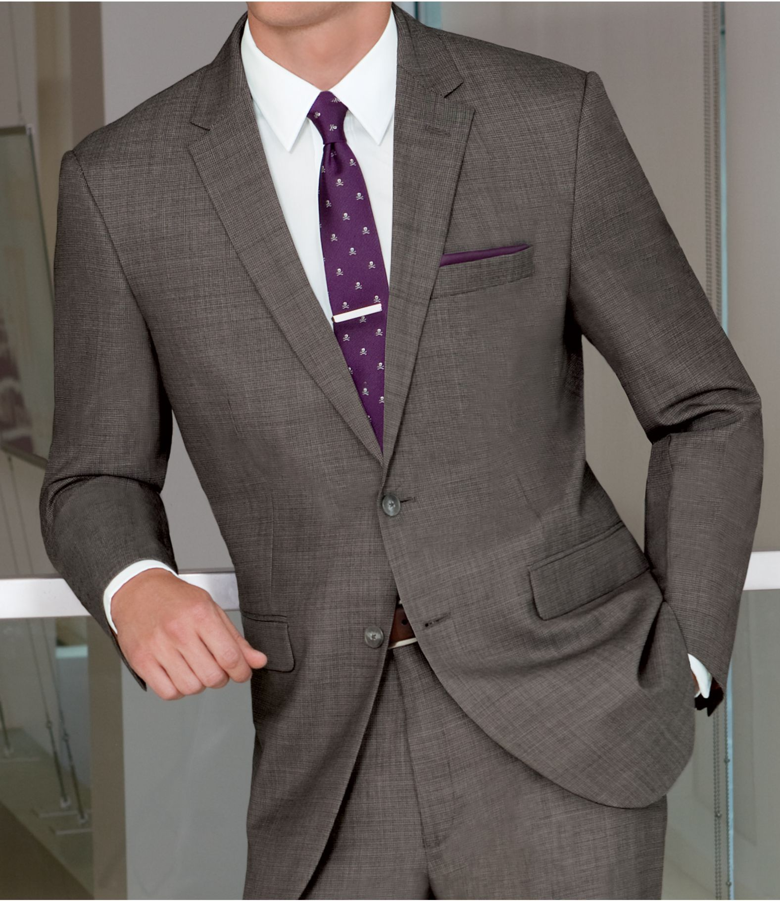 Joseph Slim Fit 2-Button Suits with Plain Front Trousers | FASH: M ...