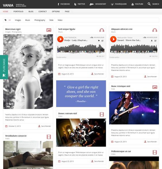 39 More of the Best Masonry Blog and Magazine WordPress Themes ...