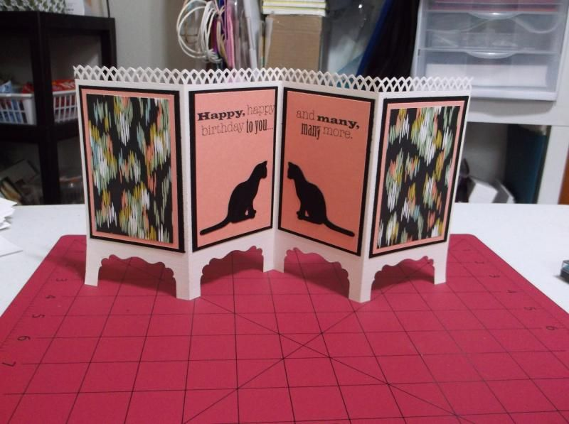 Room Divider Card by Iluvcards - Cards and Paper Crafts at Splitcoaststampers