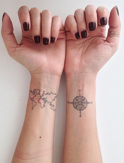 37 Incredible Wrist Tattoos You Need to See tattoos, wrist tattoos, little tattoos, cute tattoos